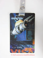 Babylon 5 Space Station Visa Identification Card ID Badge Costume B5 1998 BQ