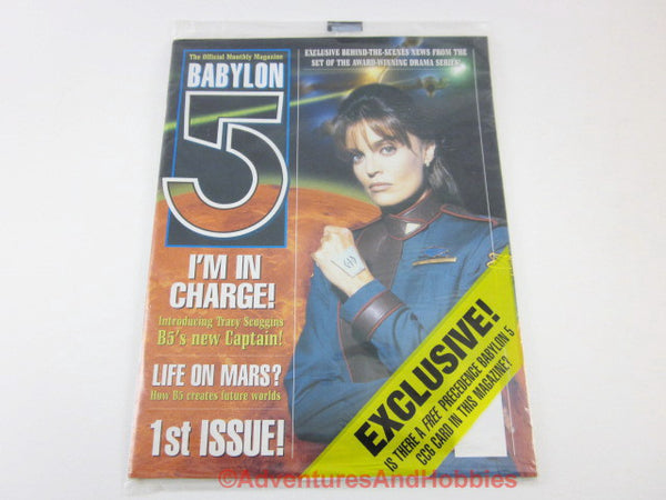 B5 Babylon 5 Official Monthly Magazine #1 Sealed CN