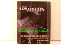 Babylon 5 Project B5 RPG Core Rulebook Chameleon OOP BD