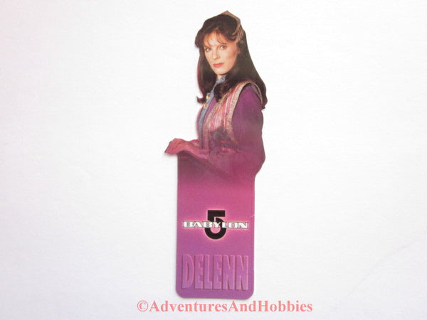 Babylon 5 Ambassador Delenn Shaped Bookmark B5 1997 DR-D