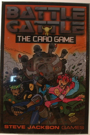 Battle Cattle The Card Game Steve Jackson Games New Ages 10 plus Sealed