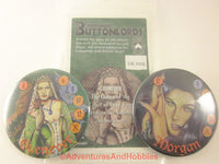 Buttonlords Fantasy Dice Combat Game Set 2 GN Guenever vs Morgan le Fay