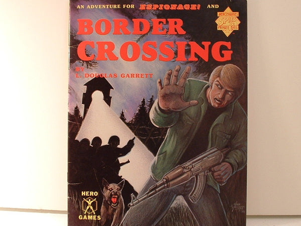 Hero Games Border Crossing Espionage & Mercenaries OOP EB