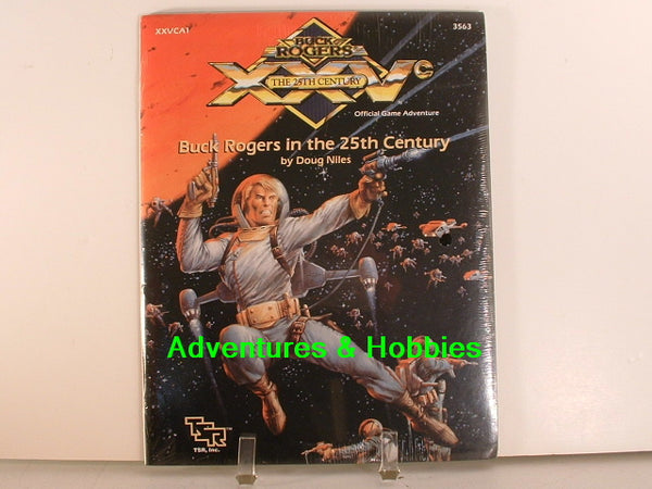 Buck Rogers in the 25th Century TSR 3563 1990 K7 Sealed Shrinkwrap