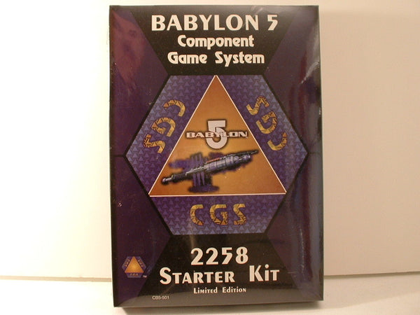 Babylon 5 Component Games System 2258 Earth Alliance Starter OOP A6