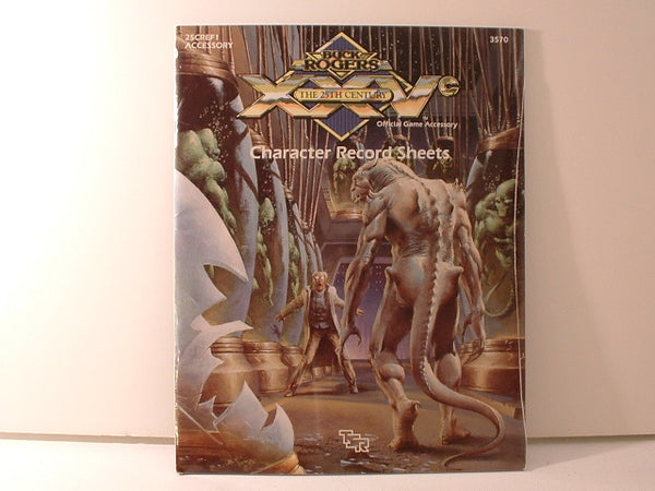 Buck Rogers RPG Character Record Sheets TSR 3570 1991 AC Sealed Shrinkwrap