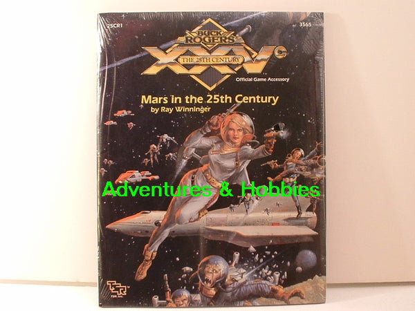 Buck Rogers Mars in the 25th Century TSR 3565 1990 KC Sealed Shrinkwrap