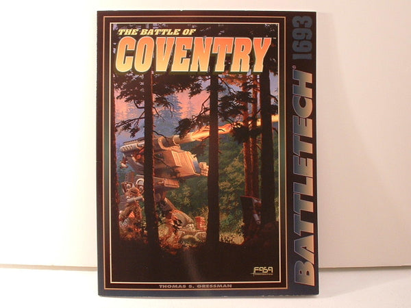BattleTech Scenario Pack Battle of Coventry OOP FASA HHB