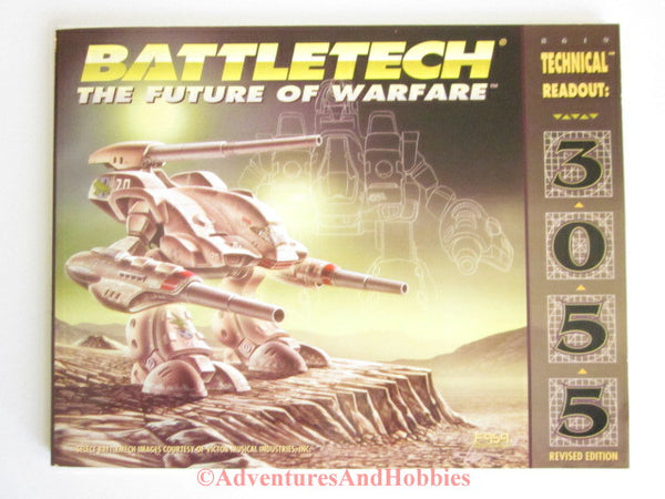 BattleTech Technical Readout 3055 Revised Edition FASA 8619 1996 IR