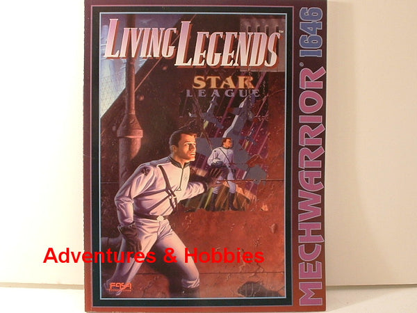 BattleTech MechWarrior Living Legends FASA New OOP EC