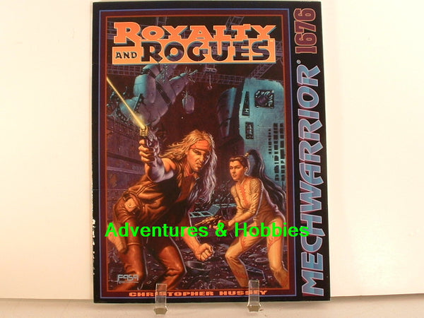 MechWarrior BattleTech Royalty and Rogues FASA 1994 OOP A8