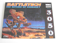 BattleTech Technical Readout 3050 Revised Edition FASA 8614.
