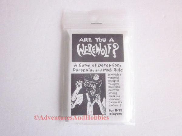 Looney Labs Are You a Werewolf Card Game 8-15 Players LOO-019