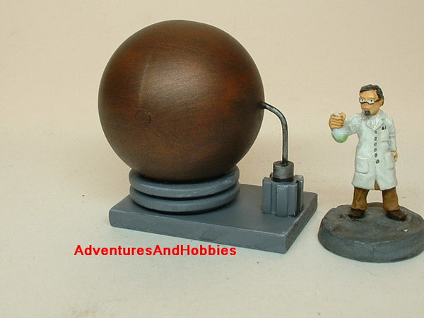 War Game Terrain CB2001 40K Mad Science Pulp Lab Equipment