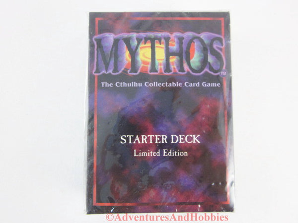 Mythos Starter Deck Call of Cthulhu Card Game Limited Ed 1996 Chaosium Sealed