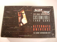 Star Trek:TNG CCG Alternate Universe 36 Booster in Box Sealed AB Decipher