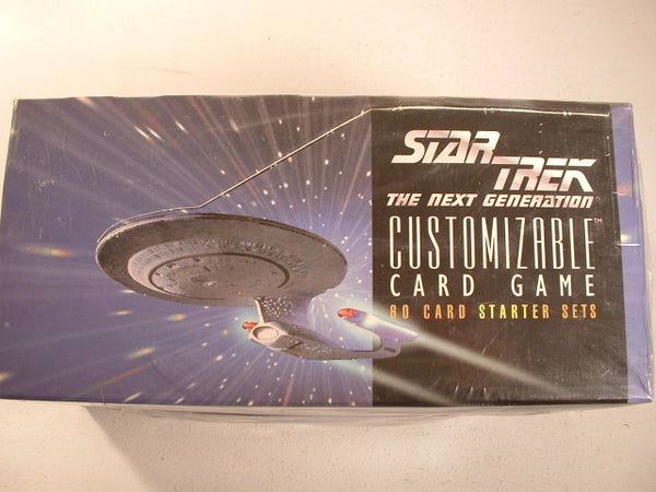 Star Trek:TNG CCG Unlimited Starter  Lot of 12 in Box Sealed AB Decipher
