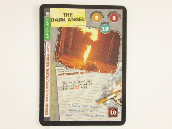 X-Files CCG The Dark Angel Promo 1996 Trading Card Game Unplayed