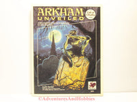 Call of Cthulhu Arkham Unveiled 1920s Chaosium 2325 1st 1990 ATS with Newspaper and Map