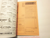 Call of Cthulhu Miskatonic University Guide Book Horror Chaosium 2352 1995 ATmS