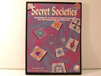 Chaosium Secret Societies Horror RPG Sourcebook OOP New AC