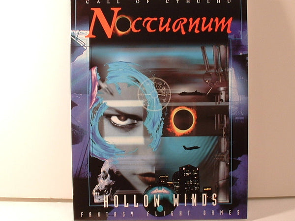 Call of Cthulhu Nocturnum Hollow Winds New H P Lovecraft IB Horror
