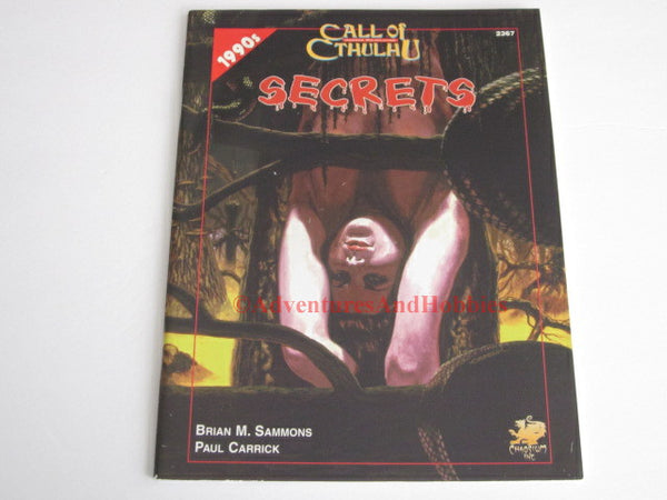 Call of Cthulhu Secrets 1990s Horror Adventure Lovecraft Chaosium 2367