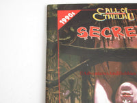Call of Cthulhu Secrets 1990s Horror Adventure Lovecraft Chaosium 2367 1997 BSi