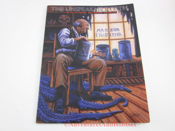 Unspeakable Oath Issue 13 Call of Cthulhu Pagan Publishing Highlighted GP