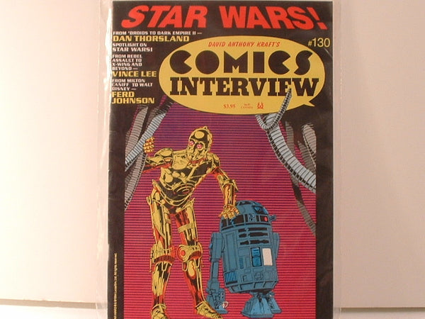 Comics Interview #130 Star Wars Special Edition 1994 FB