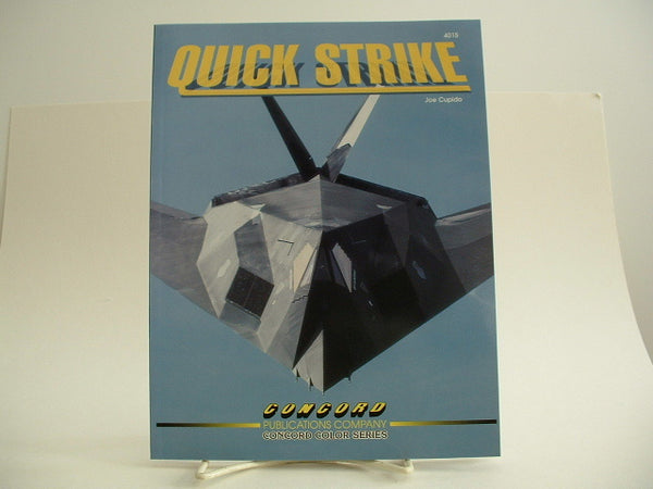Concord Quick Strike Jet Aircraft Military Reference Book C4015 New IC