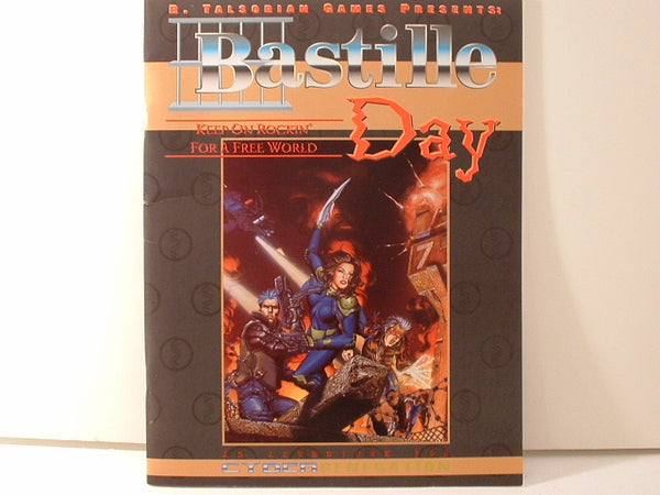 CyberGeneration Bastille Day Cyberpunk New OOP BC R Talsorian Games