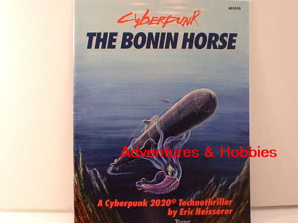 Cyberpunk 2020 RPG Bonin Horse Adventure Atlas Games OOP JC