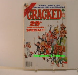 Cracked 226 Humor Comics 29th Anniversary 1987 G8