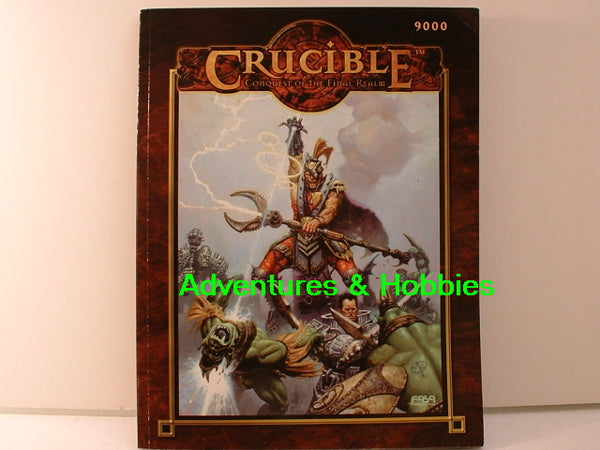 Crucible Fantasy Miniatures Wargame Rulesbook New FASA OOP IC