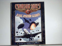 Crimson Skies Blake Aviation Security Campaign Book OOP BC FASA