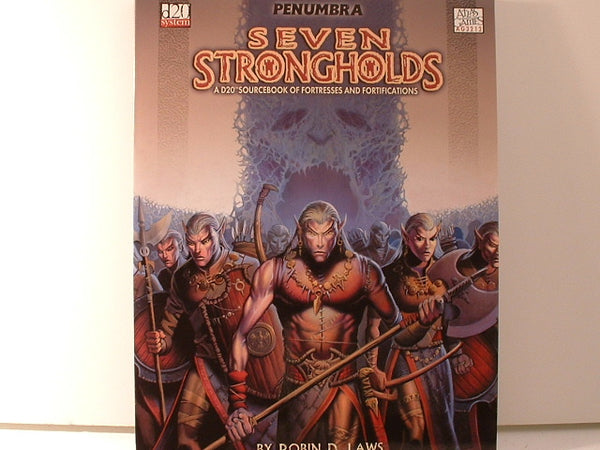 D&D D20 Penumbra Seven Strongholds Fantasy RPG Sourcebook New FB