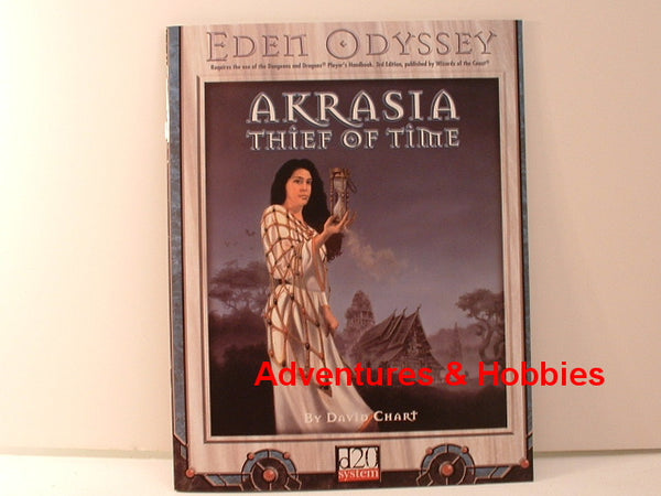 D&D D20 Akrasia Thief of Time Dungeons Dragons New F6