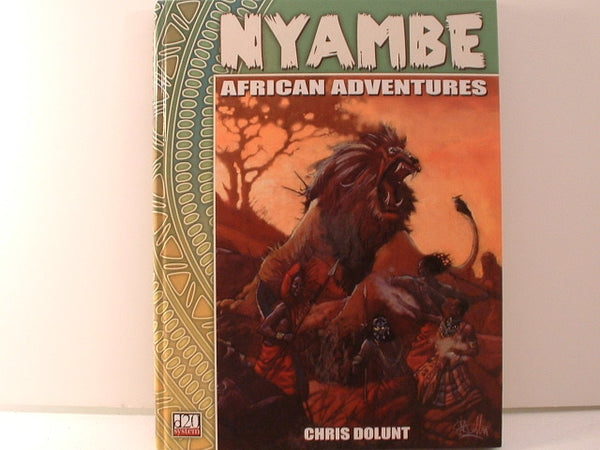 D&D D20 Nyambe African Fantasy Campaign Book Atlas Games New FC