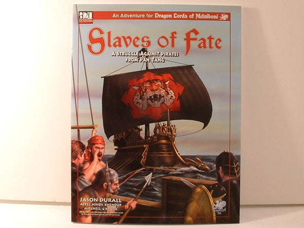 Dragon Lords Melnibone Chaosium Slaves of Fate Fantasy D20 OOP AC