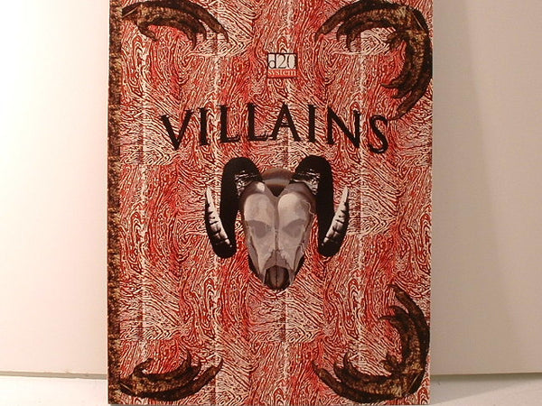 D&D D20 Villains Sourcebook New OOP Bastion Press CC