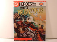 DC Super Heroes RPG Project Prometheus Mayfair Games OOP J5