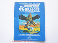 Dungeons & Dragons Expert Rulebook Revised Ed 1st Printing TSR 1983 D&D AT-S