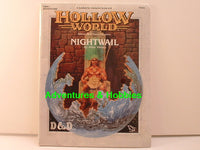 D&D Hollow World Nightwail Sealed Shrinkwrap Dungeons Dragons TSR C7