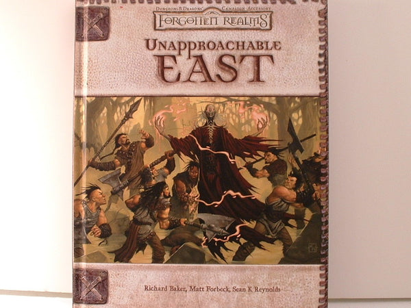 D&D 3E D20 Forgotten Realms Unapproachable East Campaign New DB