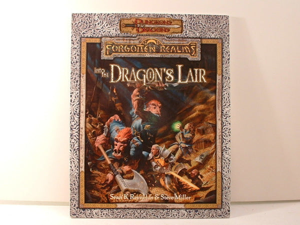 D&D 3E Forgotten Realms Into the Dragon's Lair D20 LA
