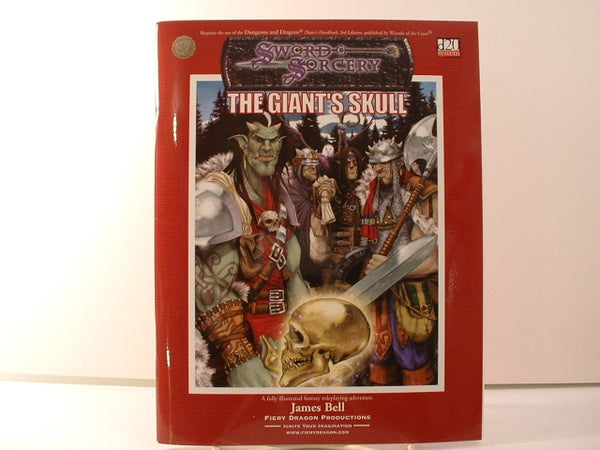 D&D 3E Giant's Skull Double Fantasy Adventure New OOP D20 KA