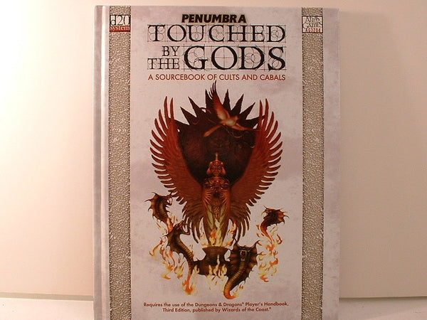 D20 D&D Touched by the Gods Dungeons Dragons Atlas Games New KA
