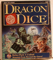 Dragon Dice Undead Kicker Pack #3 TSR 1996 OOP Fantasy EB Sealed