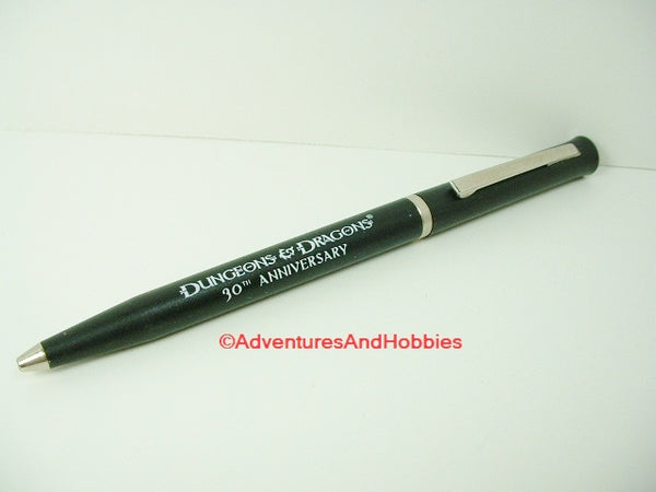 D&D Dungeons & Dragons 30th Anniversary Promo Ballpoint Pen WotC